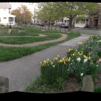Photo taken at West Clinton Labyrinth by William E. on 4/9/2012