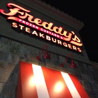 Photo taken at Freddy's Frozen Custard & Steakburgers by Ryan J. on 2/5/2012