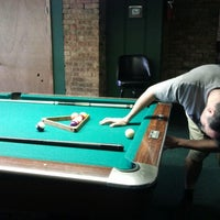 Photo taken at Chicago Billiards Cafe by jarrod j. on 6/14/2012