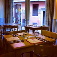 Photo taken at Omelette & Baguette by Carlotta C. on 4/14/2012