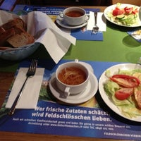 Photo taken at Restaurant Auhof by Alex A. on 8/7/2012