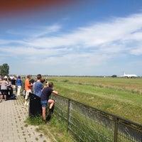 Photo taken at Spottersplaats Polderbaan by René T. on 8/1/2012