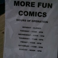 Photo taken at More Fun Comics by Gage H. on 12/12/2011