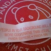 Photo taken at Panda Express by Johnny H. on 1/26/2012
