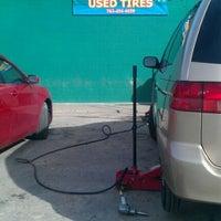 Photo taken at Vasquez Used Tires by Wendy R. on 11/26/2011