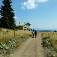 Photo taken at Хижа Преспа by Nickolay P. on 9/5/2011