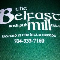 Photo taken at Belfast Mill Irish Pub by Lori B. on 11/4/2011