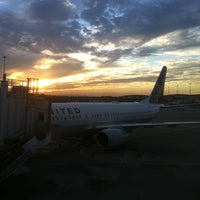 Photo taken at Gate A16 by Michael B. on 10/15/2011