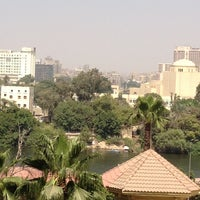 Photo taken at Sheraton Cairo Hotel & Casino by Oksa on 7/12/2012