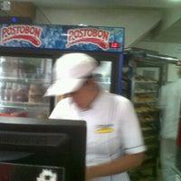 Photo taken at Crispan by Andrés G. on 1/13/2012