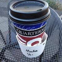 Photo taken at Quartermaine Coffee by Dion H. on 6/27/2012
