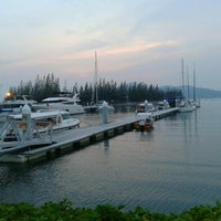 Photo taken at Marina Island Jetty Complex by Shakinah A. on 9/2/2012