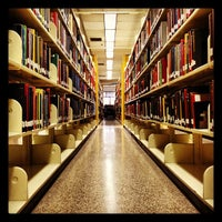 Photo taken at Estelle and Melvin Gelman Library by Justin H. on 4/3/2012