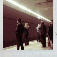 Photo taken at 4. Levent Metro İstasyonu by Eda N. on 12/30/2011