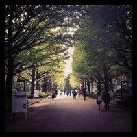 Photo taken at Aoyama Gakuin University by Ryusuke K. on 10/24/2011