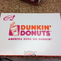 Photo taken at Dunkin' Donuts by Drew N. on 8/1/2012