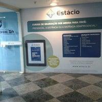 Photo taken at Universidade Estácio de Sá by Renato S. on 11/16/2011