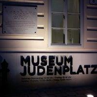 Photo taken at Judenplatz by Utka R. on 1/4/2012