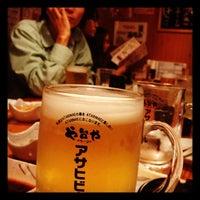Photo taken at や台ずし 赤坂店 by akihiro k. on 10/17/2011