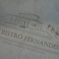 Снимок сделан в Bistrô Fernandes пользователем Paula A. 5/30/2012