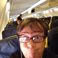 Photo taken at Ryanair Flight FR8147 by Piermichele G. on 4/7/2012