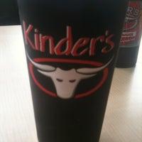 Photo taken at Kinder's BBQ by Megan M. on 3/17/2012
