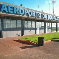 Photo taken at Aeroporto de Dourados (DOU) by Nazem J. on 5/16/2012