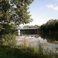 Photo taken at Spreebrücke by Fabian N. on 7/16/2011