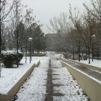 Photo taken at Bilkent University by Fatih Ş. on 1/10/2012
