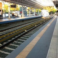 Photo taken at Irakleio ISAP Station by Gerry M. on 9/3/2011