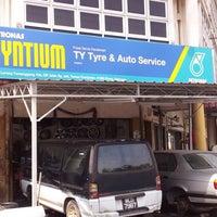 Photo taken at Ty Tyre by DJ Bernard Lee on 7/3/2012