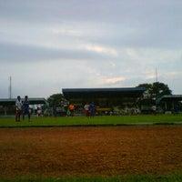 Photo taken at Stadion Tridaya by Refin W. on 4/7/2011