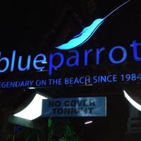 Photo taken at The Blue Parrot Beach Club by Paris S. on 4/14/2012