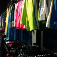 Photo taken at Under Armour Factory Store by Megan E. on 6/18/2012