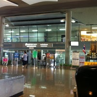 Photo taken at Krabi International Airport (KBV) by pongsakorn b. on 5/25/2012