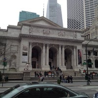 Photo taken at New York Public Library - Stephen A. Schwarzman Building Celeste Bartos Forum by Victor A. on 3/25/2012
