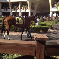 Photo taken at Fair Grounds Race Course & Slots by Melissa N. on 1/28/2012