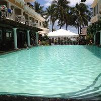 Photo taken at Boracay Mandarin Island Hotel by Keith E. on 5/18/2012