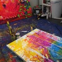 Photo taken at Reis Art Studios by Alyssa D. on 6/21/2012