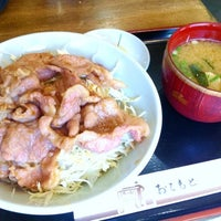 Photo taken at 丸三食堂 by Takahito N. on 8/18/2011