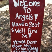 Photo taken at Angel's Icehouse by Andrea M. on 4/17/2011