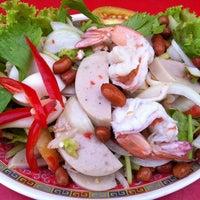 Photo taken at ปานทิพย์ ยำแซ่บ by ภาณุพงศ์ ว. on 9/12/2012