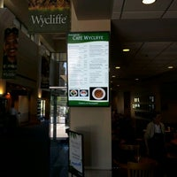 Photo taken at Cafe Wycliffe by Elikem A. on 4/3/2012