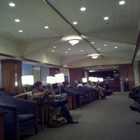 Photo taken at Delta Sky Club by Andrew M. on 10/25/2011