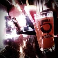 Photo taken at 5 Seasons Brewing by Joe W. on 7/22/2011