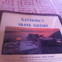 Photo taken at Katerina's Greek Cuisine by Andrew M. on 7/24/2011