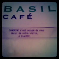 Photo taken at Basilic Café by Rbx B. on 2/4/2012