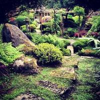 Photo taken at Tatton Park Japanese Garden by Murry on 5/21/2012