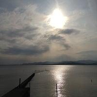 Photo taken at Lake Hamana by KEnji O. on 4/21/2012
