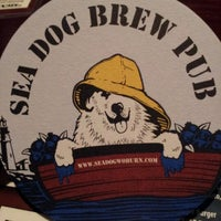 Photo taken at Sea Dog Brew Pub by Christopher H. on 11/4/2011